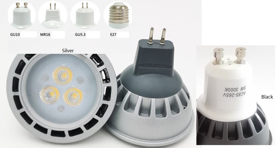 3W GU5.3 marine LED bulb, MR16 GU10 E27 Machine tools LED bulb