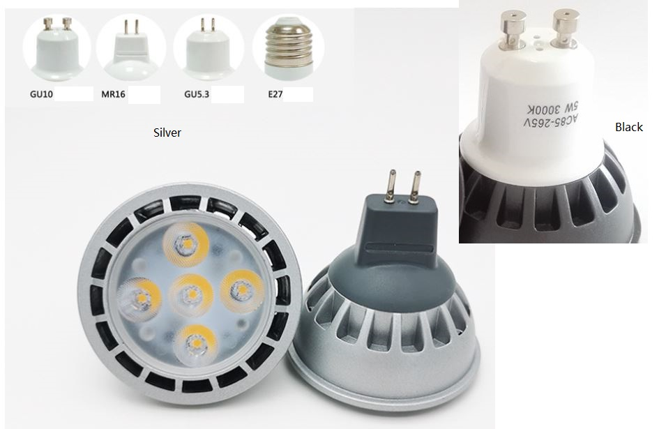 5W LED bulb marine LED bulb, Machine tools led, 12V, 24V, 36V