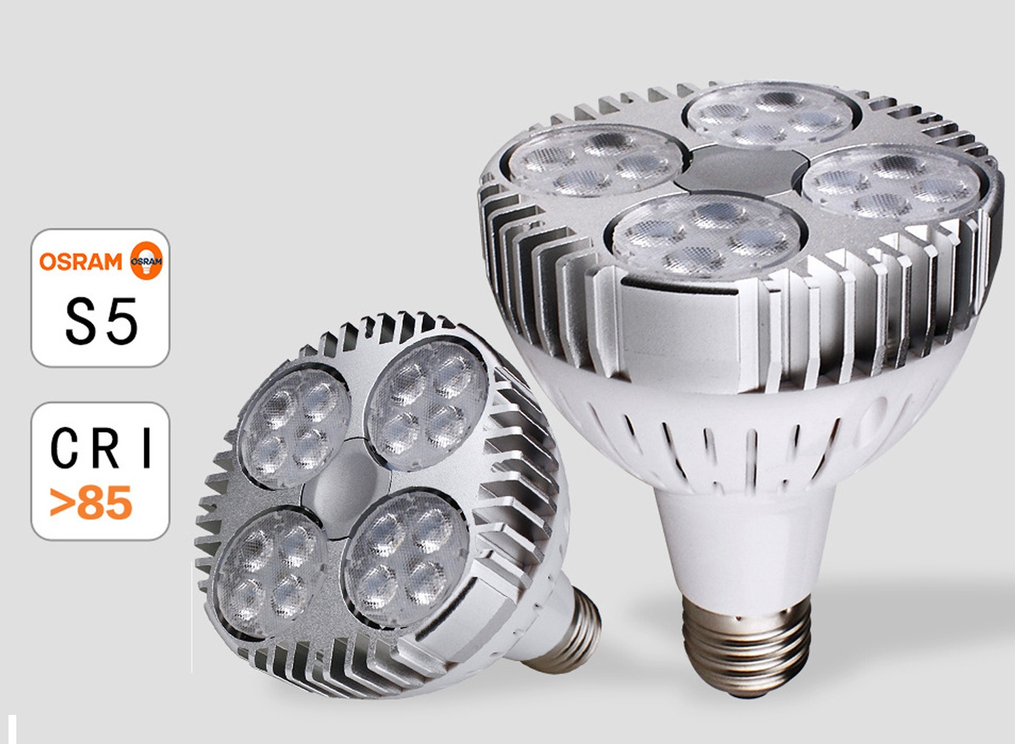 PAR30 LED bulb 25W OSRAM chip for retail store jewelry displays