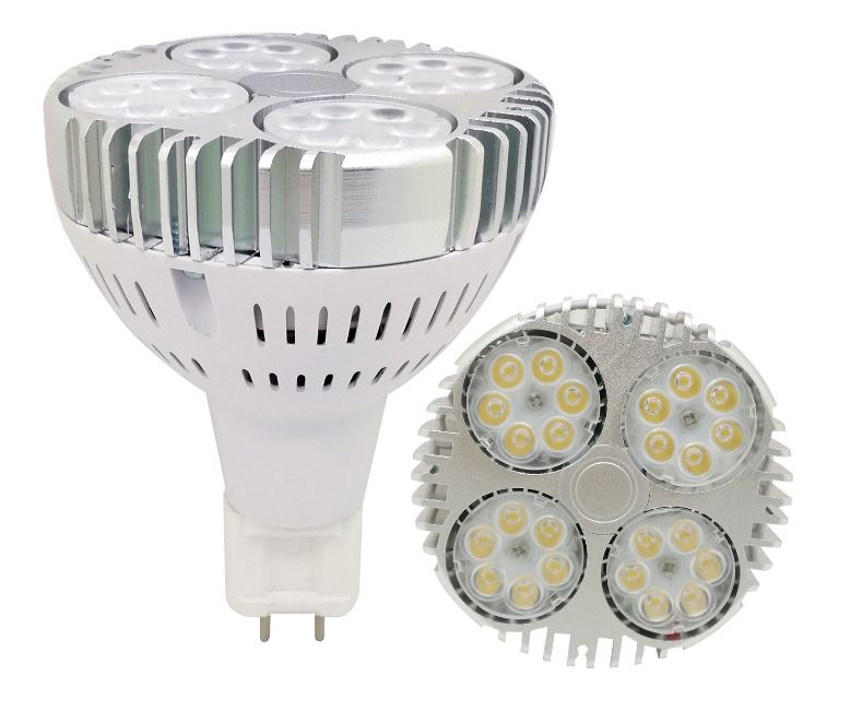 G12 LED 277V LED PAR30 35W led spotlight using OSRAM LED chip
