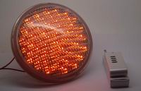 PAR56, 18 Watt LED underwater lights, 351 LEDs, RED color, 12V