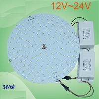 "12V/24v,36W led, 8"" U or ring type 100W fluorescent replacement"