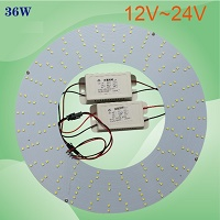 "12V/24v,36W led, 12"" U or ring type 100W fluorescent replacement"