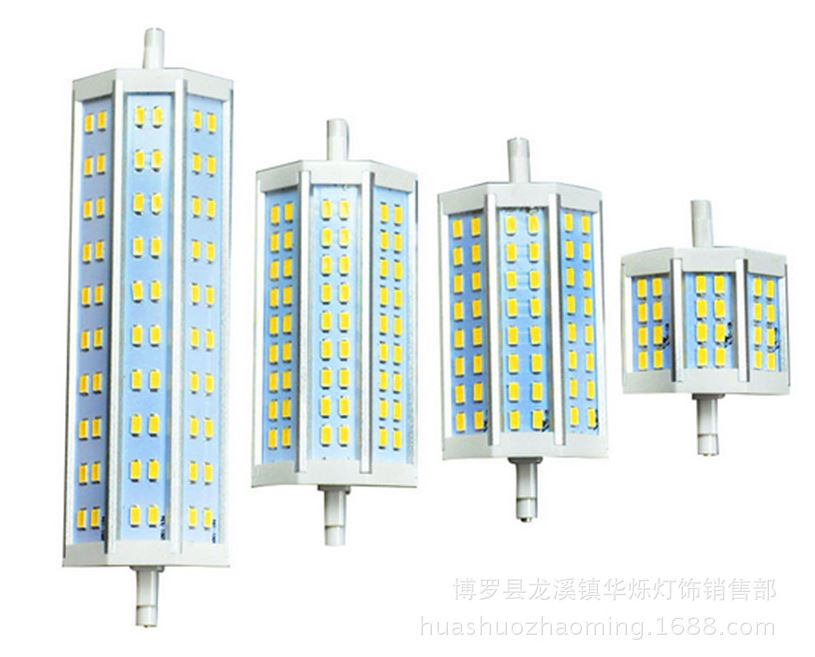 Dimmable R7S LED bulbs, 20W LED Quartz Double Ended replacement - Click Image to Close