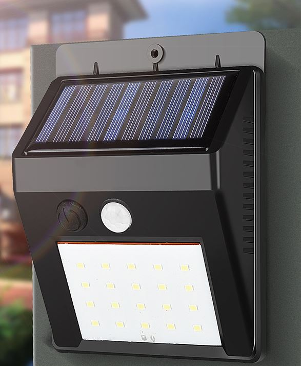 LED Wall Mount Light for Garden solar exterior lighting fixtures