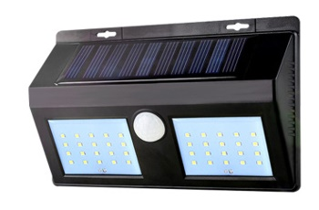 LED Solar Motion Sensor Lights, outdoor wall lighting fixtures