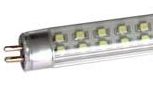 T5, 2 FT, 9W LED tube with Bracket, 120pcs SMD LED Warm white