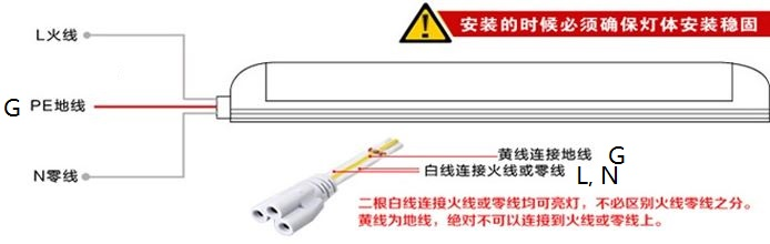 T8, 2 FT,9W boat/Bus Cabinet LED fluorescent replacement 12~265V