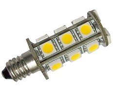 3.6W E11 Car RV Caravan Lights 18 pcs 5050 SMD, 12V