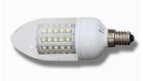 E14, 60pcs SMD LED, 3.5W Candle light bulbs, Accept any color