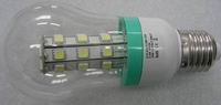 E26, 3.6W, A19 Bulb, 27pcs 5050 SMD LED, Cool white, 12V