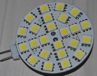G4, 3W LED house lights, 24pcs 5050 SMD, single plane, OEM