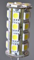 JC G4, 4 Watt LED Bulbs, 30pcs 5050 SMD, Cool white, 8~30V