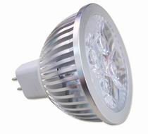 MR16, 5W LED bulbs, 4x1W power LED, Warm white, DC 10~30V, AC12V