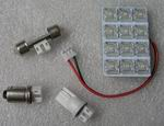 2 watt Universal PCB LED Lamp Kit for cars, Warm white, 12V