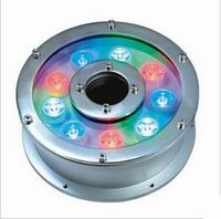 9X1 Watt LED Pool Lights, Compatible DMX512, DC12V/24V, OEM
