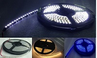 48W side view led strip lighting(5 meter length)each roll, OEM