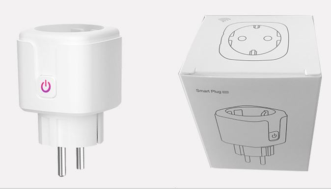 WiFi Smart European Plug Work with Alexa Google Assistant