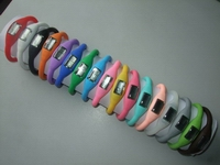 High quality Silicone digital watch, opp bag package